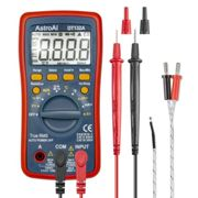 AstroAI Digital Multimeter, TRMS 4000 Counts Volt Meter Manual and Auto Ranging; Measures Voltage Tester, Current, Resistance, Continuity, Frequency