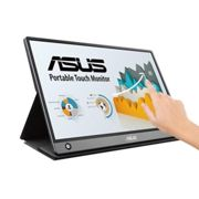 """ASUS MB16AMT touch screen monitor 39.6 cm (15.6"""") 1920 x 1080 pixels Grey Multi-touch Tabletop"""