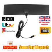 August DTA420 Freeview HD Digital TV Aerial Indoor High Gain Portable Antenna
