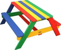 Axi Nick Picnic Table Rainbow - Parasol Rainbow