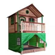 AXI Tent for Playhouse Kids Children Game Waterproof Plastic Green A030.186.00