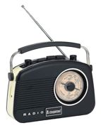 Baby Brighton Retro Radio Black