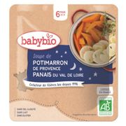 Babybio Nightime Parsnip & Pumpkin Squash Soup Packet from 6 months 190g