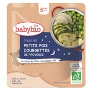 Babybio Nightime Peas & Courgette Soup Packet from 6 months