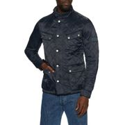 Barbour International Ariel Mens Quilted Jacket - Navy Small