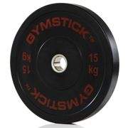 Bars And Weights Bumper Plat 15 Kg Unit Gymstick