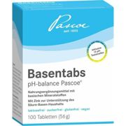 BASENTABS pH Balance Pascoe tablets 100 units