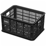Basil Plastic Crate 25l One Size Black
