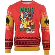 Batman: Deck the Joker Christmas Jumper / Ugly Sweater - UK XL / US L