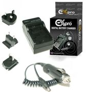 Battery Charger for Pentax D-Li109 K-2 K-30 K-50 K-70 K-500 K-R K-S1 K-S2 KP