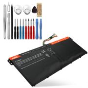Battery for Acer Chromebook 15 C910 Replacement Battery 2200mAh Spare Battery + Tool-kit