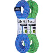 BEAL Cobra Ii 8.6mm 2x50m Gd Blue-green - Climbing rope - Blue/Green - size Unique