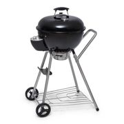 Beef Baron Kettle Grill Including Ventilation Thermometer Floor Rollers Black