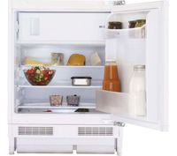 BEKO BRS3682 Integrated Undercounter Fridge - Fixed Hinge