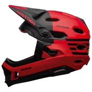 Bell Super Dh Mips Downhill Helmet L Red / Black Fasthouse