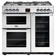 Belling Cookcentre 90G Professional Stainless Steel 90cm Gas Range Cooker