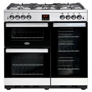 Belling Cookcentre 90G Stainless Steel 90cm Gas Range Cooker