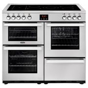 Belling 444444084 CookCentre Professional 100cm Electric Ceramic Range Cooker - Stainless Steel