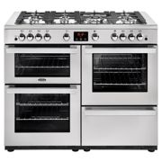 Belling 444444099 CookCentre Professional 110cm Gas Range Cooker - Stainless Steel