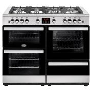 Belling 444444100 CookCentre 110cm Gas Range Cooker - Stainless Steel