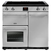 Belling Farmhouse 90Ei Silver 90cm Electric Induction Range Cooker