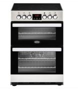 Belling 444410819 60cm Electric Double Oven Freestanding Cooker
