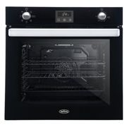 Belling BI602FPBLK 73L Built-In Single Electric Oven Black