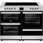 Belling Cookcentre 110E 110cm Electric Ceramic Range Cooker - Stainless Steel