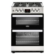 Belling COOKCENTRE 60DFSS 0822 60cm Freestanding Dual Fuel Cooker - STAINLESS STEEL