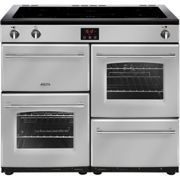 Belling Farmhouse100Ei Free Standing Range Cooker in Silver A/A