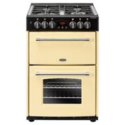 Belling Farmhouse FH60DFTCRM 60cm Dual Fuel Mini Range Cooker-Cream