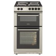 Belling FS50EFDOSIL 50cm Double Oven Electric Cooker-Silver