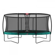 Berg Garden Trampoline Grand Champion incl. Safety Net Deluxe 350cm x 250cm Green