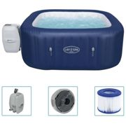 Bestway Lay-Z-Spa Inflatable Hot Tub Hawaii AirJet Home Garden Pool Spa System