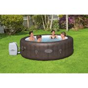 BestWay Lay-Z-Spa Rattan Effect St.Moritz AirJet Inflatable Hot Tub Heater Cover