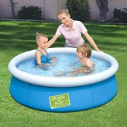 Bestway My First Frame Pool Outdoor Home Garden Backyard Summer Swimming Pool