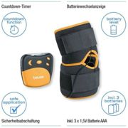 Beurer EM29 2 in 1 Knee-Elbow Pain Relief TENS Therapy¦Belt Clip¦Universall Cuff