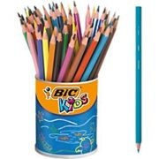 BIC Colouring Pencils 841229 Assorted Pack of 60