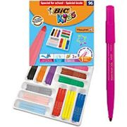 BIC Felt Tip Pens Visacolor XL Assorted Pack of 96