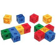 Bigjigs Toys Educational Linking Cubes - 600 Pieces