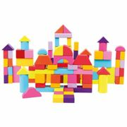 Bino cubes in a bucket 100 pcs new colors
