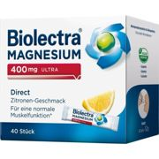 BIOLECTRA Magnesium 400 mg ultra Direct Zitrone Pellets 40 units