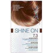 Bionike Shine On coloring hair high permanent Tolerance Blond Golden 7.3