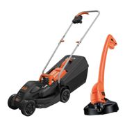 Black and Decker BEMW351GL2 Rotary Lawnmower and Grass Trimmer Kit 240v