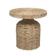 Bloomingville - Camo side table braided, nature