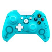 (Blue) N1 Wireless 2.4G Controller for Xbox One, PS3, PC