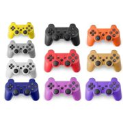 (Blue) Wireless Gamepad Bluetooth PS3 Controller Games Joystick for Sony PlayStation 3