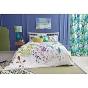bluebellgray Botanical Print Cotton Duvet Cover and Pillowcase Set