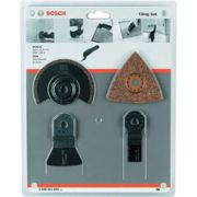 Bosch 2608661695 4-Pc Tiling Multi Blade Set
