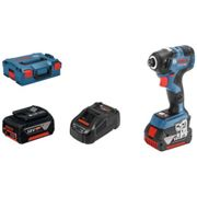 Bosch Bosch GDR 18V-200 C Professional Cordless Impact Driver with 2 x 5Ah ProCORE18V Li-ion Batteries & Charger in an L-Boxx